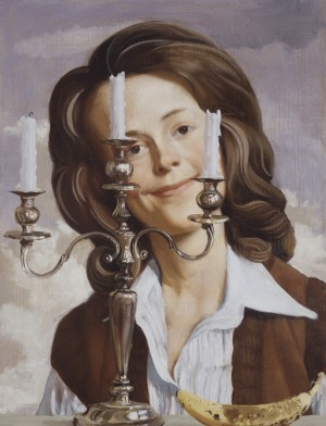 John Currin - Anna, 2004, oil on canvas