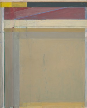 Richard Diebenkorn - Untitled, 1987, acrylic, crayon, graphite and pasted paper on paper