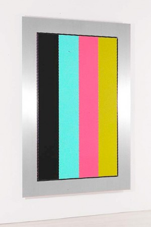 Christian Eckart - Sacra Conversazione #T-1403, 1991, hand rubbed acrylic-urethane lacquer on aluminum plate