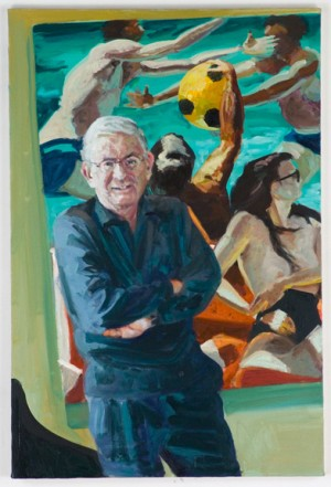 Eric Fischl - Eli, 2004, oil on linen