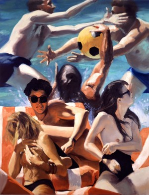 Eric Fischl - The Call of the Ball, 1993, oil on linen