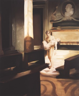 Eric Fischl - Once Where We Looked to Put Down Our Dead, 1996, oil on linen