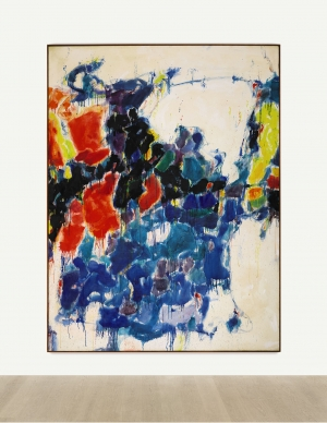 Sam Francis - Summer #1, 1957, oil on canvas