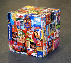 Tom Friedman - Care Package (Manipulated), 2008, ink jet photos