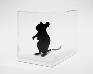 Katharina Fritsch - Hollow Mouse, 2009, plastic, paint
