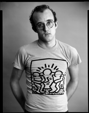 Timothy Greenfield‐Sanders - Portrait of Keith Haring, 1985