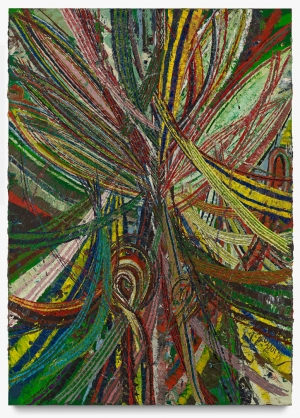 Mark Grotjahn - Untitled (Circus No. 2 Face 44.19), 2013