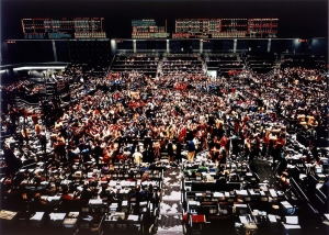 Andreas Gursky - Chicago Board of Trade I, 1997, chromogenic print behind glass in artist's frame