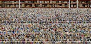 Andreas Gursky - Amazon, 2016, C-print