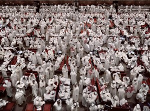 Andreas Gursky - Kuwait Stock Exchange II, 2008, chromogenic print