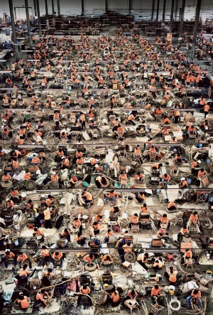 Andreas Gursky - Nha Trang, 2004, chromogenic print mounted on Plexiglas in artist's frame