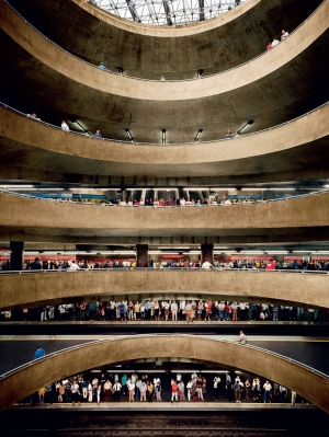 Andreas Gursky - Sao Paulo, Sé, 2002, chromogenic print mounted on Plexiglas in artist's frame