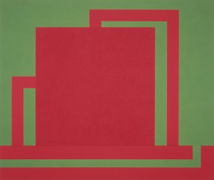 Peter Halley - Red Cell, 1988
