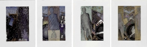 Jasper Johns - The Seasons, 1987, four intaglio prints