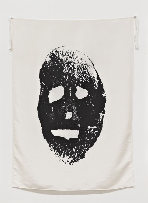 "Mike Kelley - Blood and Soil (Potato Print) (from series ""Pansy Metal/Clovered Hoof""), 1989"
