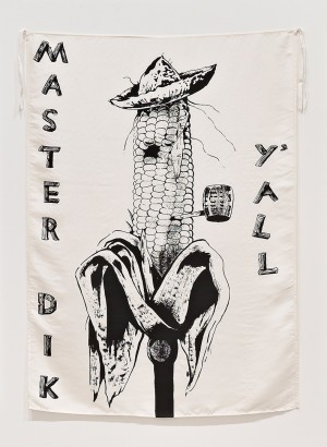 "Mike Kelley - Country Cousin (from series ""Pansy Metal/Clovered Hoof""), 1989"