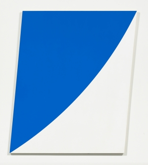 Ellsworth Kelly - Blue Curve V, 1972