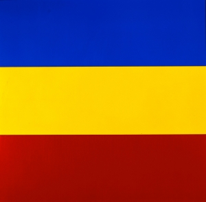 Ellsworth Kelly - Blue Yellow Red IV, 1972