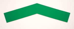 Ellsworth Kelly - Green Angle, 1970, oil on canvas