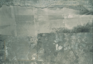 Anselm Kiefer - Alarichs Grab [translation: Alaric's Grave], 1969-89, mixed media on treated lead mounted on original photograph in glazed steel frame