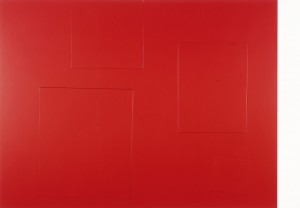 Imi Knoebel - vivunt, 1975-85, acrylic on plywood in six parts