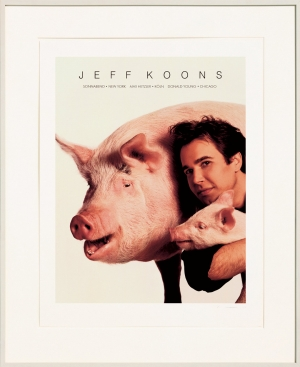 Jeff Koons - Art Magazine Ad, 1988-89, portfolio of four color lithographs