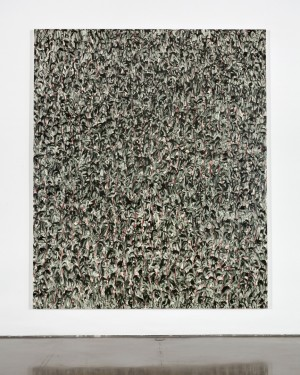 Julian Lethbridge - Untitled, 2012, oil and pigment stick on linen