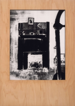 Sherrie Levine - Untitled (after Walker Evans: negative) #9, 1989, photograph and wood frame