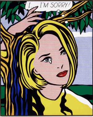Roy Lichtenstein - I...I'm Sorry!, 1965-66, oil and Magna on canvas