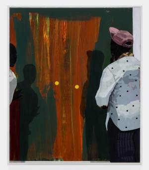 Kerry James Marshall - Untitled, 2017, acrylic on PVC panel