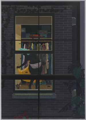 Kerry James Marshall - Untitled, 2018, acrylic on PVC panel