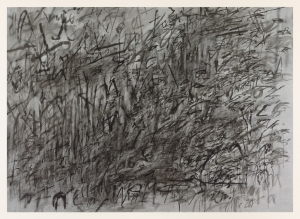 Julie Mehretu - Invisible Sun (algorithm 8, fable form), 2015