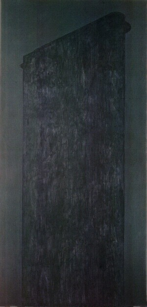 Robert Moskowitz - Flatiron (For Lily), 1979, oil on canvas