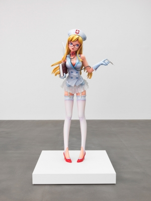 Takashi Murakami - Nurse Ko2 (Original rendering by Nishi-E-Da, modeling by BOME and Genpachi Tokaimura, advised by Masahiko Asano, full scale sculpture by Lucky-Wide Co., Ltd.), 2011