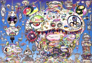 Takashi Murakami - Tan Tan Bo a.k.a Gerotan: Scorched by the Blaze in the Purgatory of Knowledge, 2018