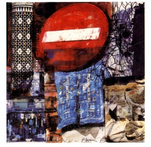 Robert Rauschenberg - Quattro Mani Marrakech III, 2000, screenprint on paper