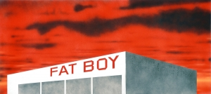 Ed Ruscha - The Old Tech-Chem Building, 2003, acrylic on canvas