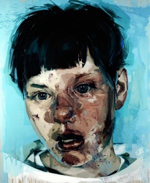 Jenny Saville - Stare, 2004-05, oil on canvas