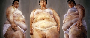 Jenny Saville - Strategy, 1994, oil on canvas