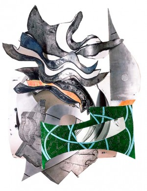 Frank Stella - The Chapel (C-30, 1X), 1990