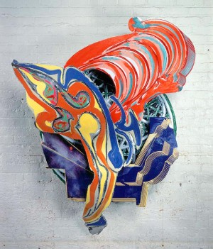Frank Stella - First Night Watch (B-4, 2x), 1988