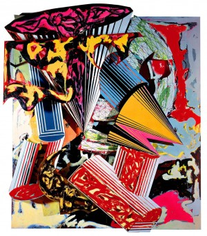 Frank Stella - Gobba Zoppa and Collotorto (3.75x), 1986