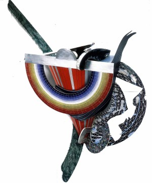Frank Stella - Merry Christmas (S-5, 3x - 2d version), 1987