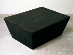 Robert Therrien - No title, 1982, enamel and wax on wood