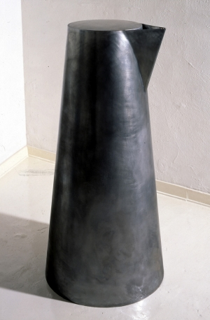 Robert Therrien - No title, 1985, nickel on bronze