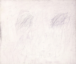 Cy Twombly - Untitled [New York City], 1955