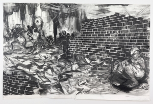 Kara Walker - Pastorale, 2010, graphite and pastel on paper