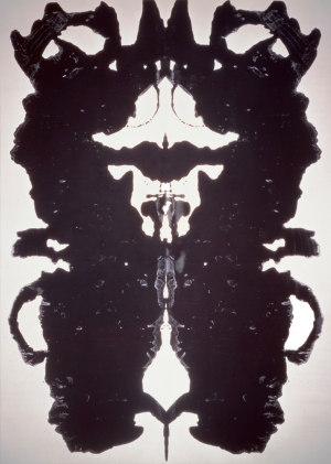 Andy Warhol - Rorschach, 1984, acrylic on canvas