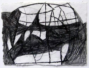 Terry Winters - Kink Instability, 1995, graphite on paper