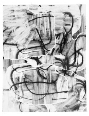 Christopher Wool - Untitled, 2008, silkscreen ink on paper